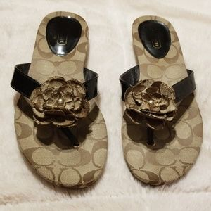 Authentic Coach Samira Sandals